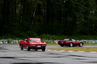 VRCBC Historic Races, Mission, May 26, 2013 - Corvette Parade